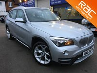 USED 2013 63 BMW X1 2.0 XDRIVE XLINE 5d 181 BHP ** RAC BUYSURE INSPECTED **