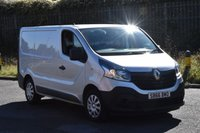 2016 RENAULT TRAFIC 1.6 SL27 BUSINESS ENERGY DCI 5d 125 BHP SWB EURO 6 START STOP DIESEL PANEL VAN £11490.00