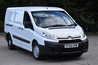 2015 CITROEN DISPATCH 2.0 1200 L2H1 ENTERPRISE HDI 6d 126 BHP LWB AIR CON DIESEL MANUAL VAN £7990.00