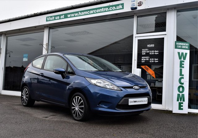2010 10 FORD FIESTA 1.2 EDGE 3d 81 BHP