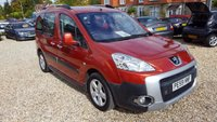 USED 2009 59 PEUGEOT PARTNER 1.6 TEPEE OUTDOOR HDI 5d 90 BHP