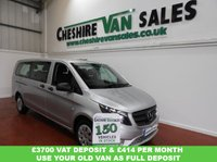 USED 2016 16 MERCEDES-BENZ VITO 2.1 114 BLUETEC TOURER PRO 5d 136 BHP 9 SEAT TOURER PRO CHOICE IN STOCK AUTO EXLWB