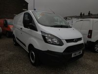 2013 FORD TRANSIT CUSTOM 270 ECONETIC 100PS L1 H1 VAN £8995.00