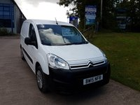 2015 CITROEN BERLINGO 1.6  625 ENTERPRISE L1 HDI 1d 75 BHP £5999.00