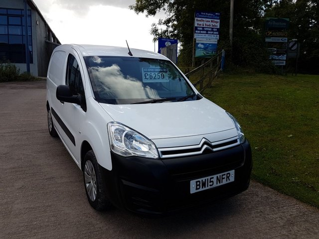 2015 15 CITROEN BERLINGO 1.6  625 ENTERPRISE L1 HDI 1d 75 BHP
