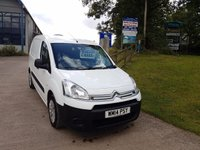 2014 CITROEN BERLINGO 1.6 625 ENTERPRISE L1 HDI 1d 75 BHP £4999.00