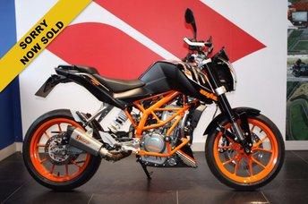View our KTM 390 DUKE