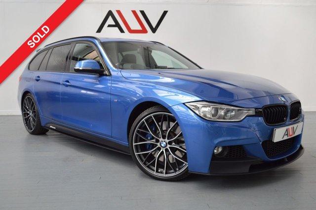 2014 64 BMW 3 SERIES 3.0 335I M SPORT TOURING 5d AUTO 302 BHP