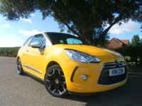 2011 CITROEN DS3 1.6 DSPORT 3d 155 BHP £5995.00
