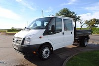 USED 2014 14 FORD TRANSIT 2.2 350 DRW 1d 99 BHP