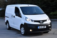 2015 NISSAN NV200 1.5 DCI ACENTA 6d 90 BHP SWB TWIN SLIDING DOORS DIESEL CAR DERIVED VAN £6250.00