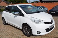 USED 2013 13 TOYOTA YARIS 1.3 VVT-I TREND 5d 98 BHP Full Toyota Service History with Revers Parking Camera