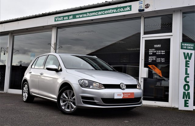 2014 14 VOLKSWAGEN GOLF 1.6 SE TDI BLUEMOTION TECHNOLOGY DSG 5d AUTO 103 BHP