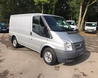 USED 2013 62 FORD TRANSIT 2.2 T280/100 SWB VAN One Owner, Full Service History, 2013 Registered