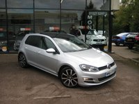 2014 VOLKSWAGEN GOLF 2.0 GT TDI BLUEMOTION TECHNOLOGY 5d 148 BHP £12990.00