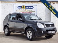 USED 2009 59 SSANGYONG REXTON 2.7 270 S 5d AUTO 163 BHP Comprehensive History Full Leather 0% Deposit Finance Available