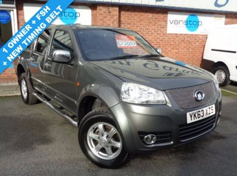 2013 GREAT WALL STEED 2.0 TD SE 4X4 DCB 4d 141 BHP £7500.00