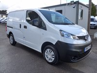 2015 NISSAN NV200 1.5 DCI ACENTA, 90 BHP, FULL SERVICE HISTORY, 1 COMPANY OWNER £7495.00