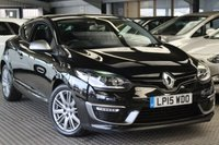USED 2015 15 RENAULT MEGANE 1.6 GT LINE TOMTOM ENERGY DCI S/S 3d 130 BHP STUNNING MEGANE GT LINE COUPE
