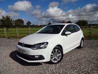 2015 VOLKSWAGEN POLO 1.2 SE TSI DSG 3d AUTO 89 BHP £9990.00