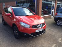 USED 2012 62 NISSAN QASHQAI 2.0 N-TEC PLUS 5 DOOR 140 BHP IN RED WITH A GREAT SPEC APPROVED CARS ARE PLEASED TO OFFER THIS VERY RARE NISSAN QASHQAI 2.0 N-TEC PLUS 5 DOOR 140 BHP IN RED WITH A GREAT SPEC IN INCLUDING SAT NAV,PANORAMIC ROOF,REVERSE CAMERA,POWER MIRRORS,CRUISE CONTROL,PRIVACY GLASS AND MORE WITH A FULL SERVICE HISTORY AND A GREAT 2.0 PETROL ENGINE.