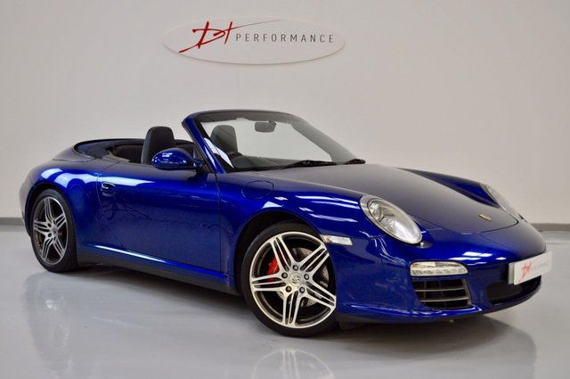 2008 58 PORSCHE 911 MK 997 3.8 CARRERA 4S 2d 385 BHP GEN II C4S CABRIOLET