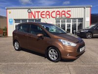 USED 2013 13 FORD B-MAX 1.5 ZETEC TDCI 5d 74 BHP LOCAL CAR WITH A FULL SERVICE HISTORY