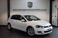 USED 2014 64 VOLKSWAGEN GOLF 2.0 GT TDI BLUEMOTION TECHNOLOGY DSG 5DR AUTO 148 BHP + FULL VW SERVICE HISTORY + 1 OWNER FROM NEW + SATELLITE NAVIGATION + BLUETOOTH + SPORT SEATS + DAB RADIO + CRUISE CONTROL + HEATED MIRRORS + 17 INCH ALLOY WHEELS +