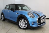 USED 2015 65 MINI HATCH COOPER 1.5 COOPER D 5DR CHILI PACK 114 BHP HALF LEATHER SEATS + 0% FINANCE AVAILABLE T&C'S APPLY + SAT NAVIGATION PROFESSIONAL + BLUETOOTH + CRUISE CONTROL + MULTI FUNCTION WHEEL + 16 INCH ALLOY WHEELS