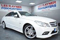 2011 MERCEDES-BENZ E CLASS 3.0 E350 CDI BLUEEFFICIENCY SPORT 2d AUTO 231 BHP £13999.00