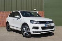 2014 VOLKSWAGEN TOUAREG 3.0 V6 R-LINE TDI BLUEMOTION TECHNOLOGY 5d AUTO 242 BHP £21000.00