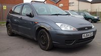 USED 2004 54 FORD FOCUS 1.4 LX 5d 74 BHP CLEARANCE AS IS . NOT AVAILABLE ON FINANCE.