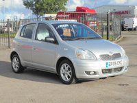 2005 TOYOTA YARIS 1.3 COLOUR COLLECTION VVT-I 5d 86 BHP £1495.00