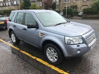 USED 2007 07 LAND ROVER FREELANDER 2.2 TD4 SE 5d AUTO 159 BHP PRICE INCLUDES A 6 MONTH AA WARRANTY DEALER CARE EXTENDED GUARANTEE, 1 YEARS MOT AND A OIL & FILTERS SERVICE. 12 MONTHS FREE BREAKDOWN COVER  THIS CAR HAS A FULL SERVICE HISTORY !!