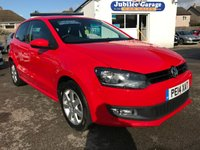 2014 VOLKSWAGEN POLO 1.2 MATCH EDITION 3d 59 BHP £7395.00