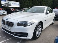 USED 2014 14 BMW 5 SERIES 2.0 520D SE 4dr AUTO 181 BHP  *ONLY 9.9% APR with FREE Servicing*