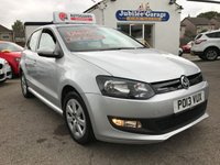 USED 2013 13 VOLKSWAGEN POLO 1.2 BLUEMOTION TDI 5d 74 BHP Bluemotion, Bluetooth, Full VW history, Only 32004 miles.
