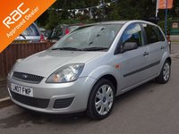 2007 FORD FIESTA 1.6 STYLE CLIMATE 16V 5dr Automatic, 6 Months RAC Warranty £2690.00