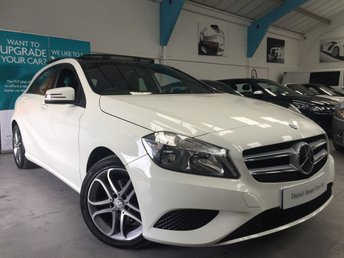 2013 MERCEDES-BENZ A CLASS 1.8 A180 CDI BLUEEFFICIENCY SPORT 5d AUTO 109 BHP £14490.00