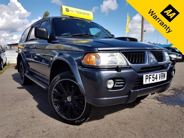 2005 54 MITSUBISHI SHOGUN SPORT 2.5 EQUIPPE TD 5d 114 BHP! p/x welcome!4X4! ELECTRIC S-ROOF! GOOD DEALER HISTRY! 20in WOLF ALLOYS! AUX! AIR-CON! TOW-BAR! PRIVACY GLASS! RUST FREE! NEW MOT & SERVICE!