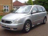 2010 KIA SEDONA 2.2 1 CRDI 5d 192 BHP £4500.00