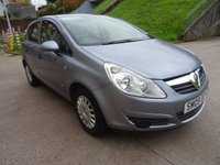 USED 2009 09 VAUXHALL CORSA 1.0 LIFE 5d 60 BHP SERVICE RECORD ++   EXCELLENT CONDITION++  FULL YEAR MOT ++