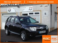 USED 2013 63 DACIA DUSTER 1.5 LAUREATE DCI 5d 107 BHP 1 Owner , Low Mileage , Bluetooth