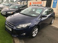 2011 FORD FOCUS 1.6 ZETEC 5d 44000 miles fsh compare our price fully serviced full mot  £5795.00