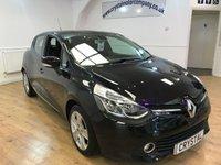 2014 RENAULT CLIO 1.1 DYNAMIQUE MEDIANAV 5d 75 BHP £6795.00