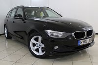 USED 2013 63 BMW 3 SERIES 2.0 316D SE TOURING 5DR 114 BHP FULL BMW SERVICE HISTORY + 0% FINANCE AVAILABLE T&C'S APPLY + LEATHER SEATS + CLIMATE CONTROL + PARKING SENSOR + BLUETOOTH + CRUISE CONTROL + MULTI FUNCTION WHEEL + 17 INCH ALLOY WHEELS