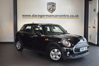 USED 2015 15 MINI HATCH COOPER 1.5 COOPER D 5DR PEPPER PACK 114 BHP + 1 OWNER FROM NEW + SERVICE HISTORY + BLUETOOTH + SPORT SEATS + DAB RADIO + 15 INCH ALLOY WHEELS +