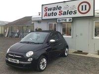 2014 FIAT 500 1.2 C LOUNGE 69 BHP £8595.00