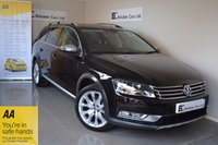 USED 2013 13 VOLKSWAGEN PASSAT 2.0 ALLTRACK TDI BLUEMOTION TECH 4MOTION DSG 5d AUTO 175 BHP Immaculate  - 4 Wheel Drive - Satellite Navigation - Like New