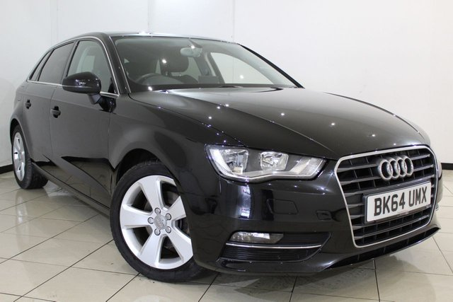 View our 2014 64 AUDI A3 2.0 TDI SPORT 5DR 148 BHP